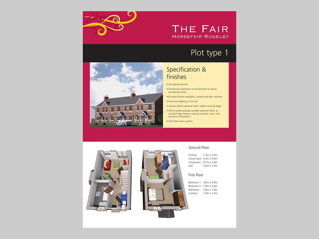 Housing Development Brochure Housing Developments
