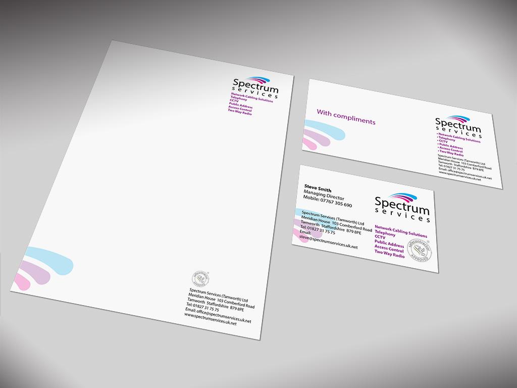 Branding spectrum 2 for Advertising agency uk