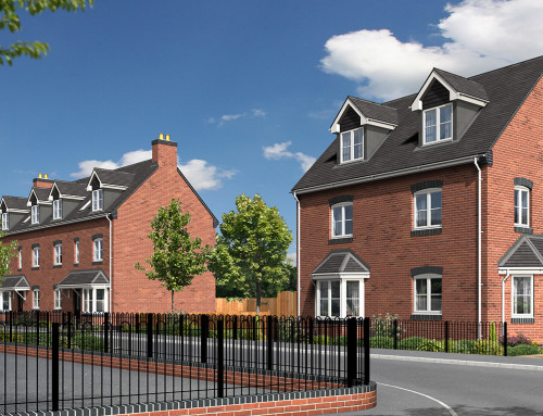 Property CGI for Birmingham house builders