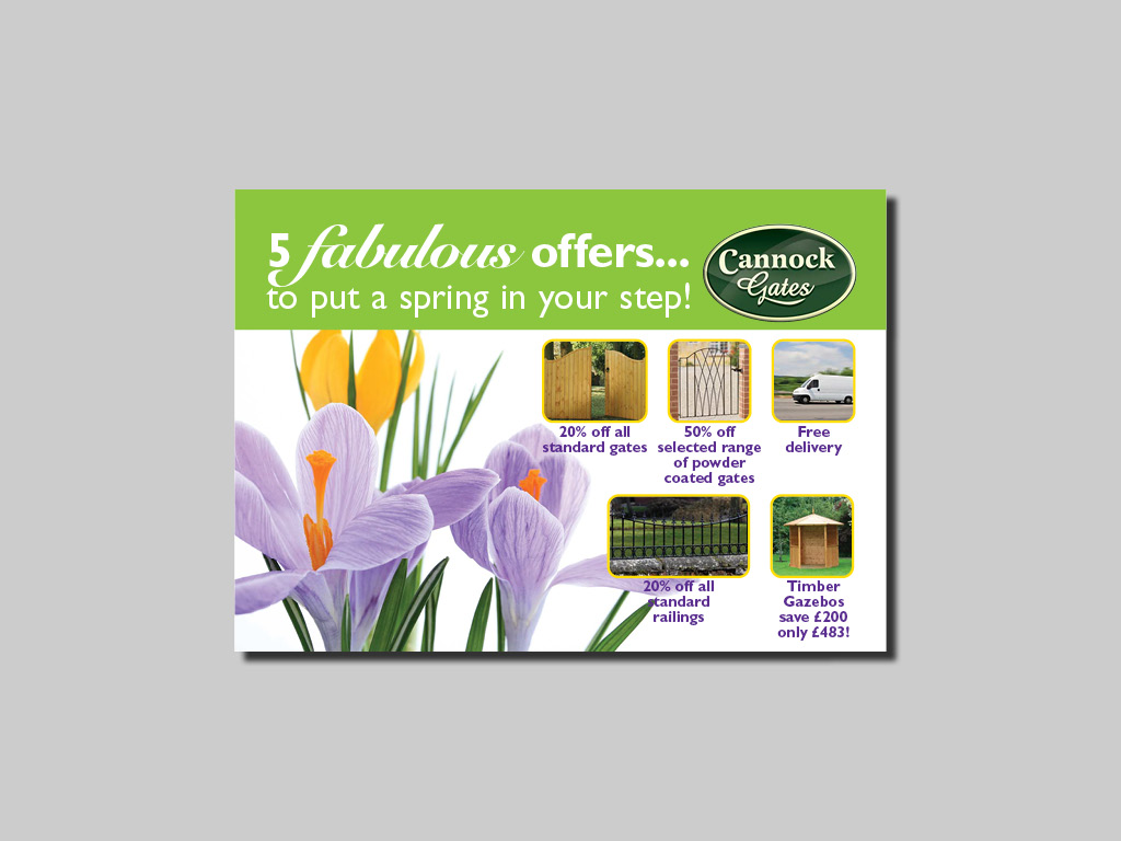direct mail design and print mailers postcards promotional literature campaign results