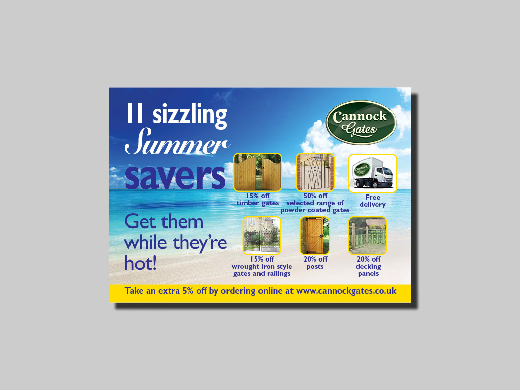 direct mail design print mailers postcards