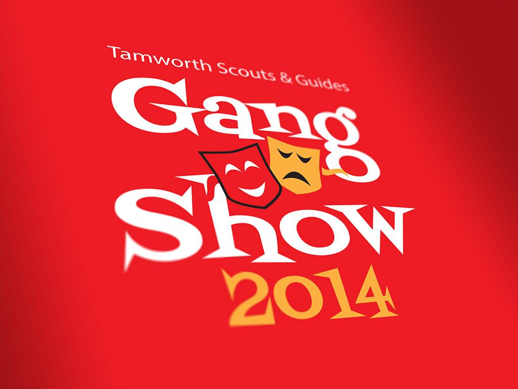 brand identity logo design community events charities tamworth gang show