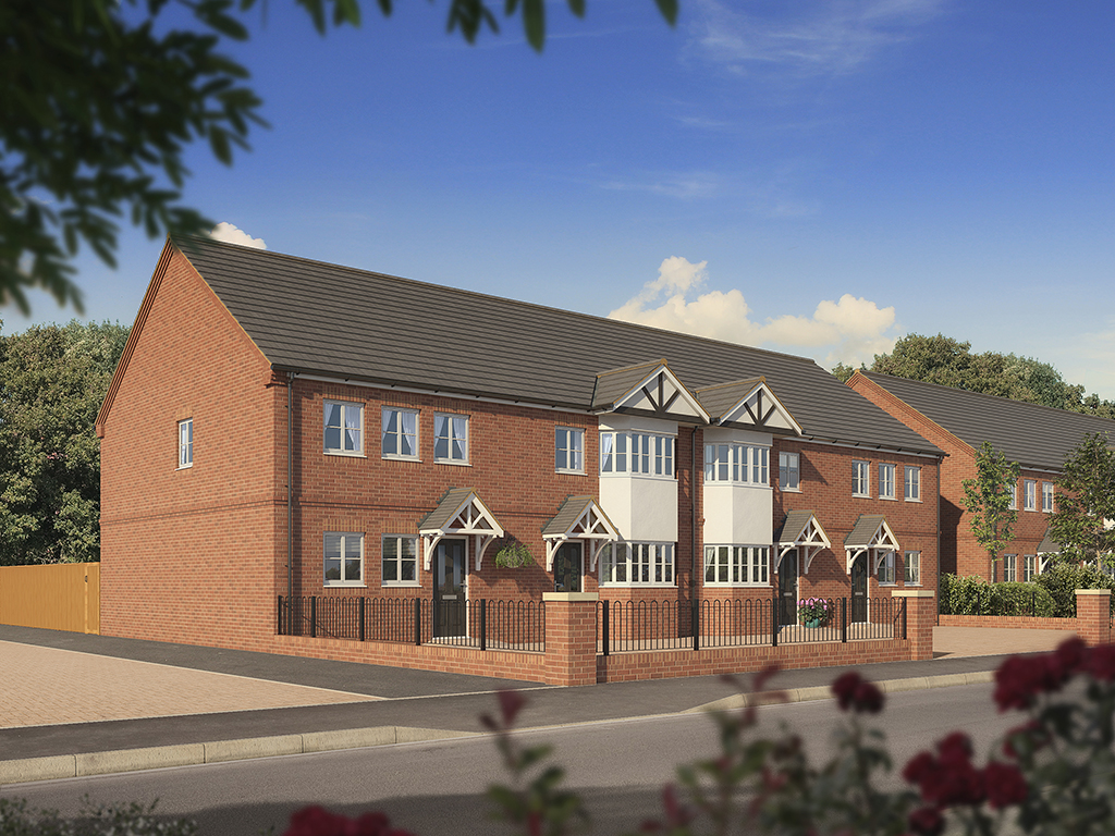 Housing CGI, property cgi, architectural visualisation, architectural illustration, artists impression, housing, property, staffordshire, birmingham, midlands