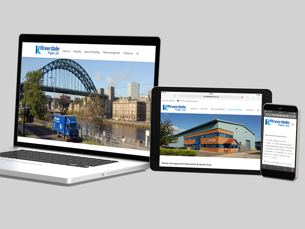 Riverdale responsive website